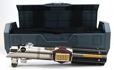 New Disney Star Wars Galaxy's Edge Reforged Skywalker Legacy Lightsaber Hilt