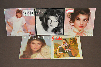 SYLVIA 5 LP RECORD ALBUM LOT COLLECTION Drifter/Just/Snapshot/Surprise/One Step