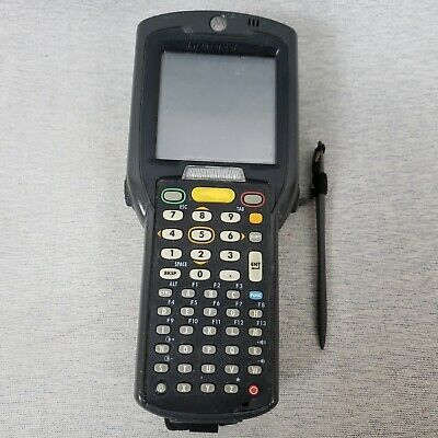 Symbol MC3090 Wireless Barcode Scanner Untested No Charger Hand Strap Stylus