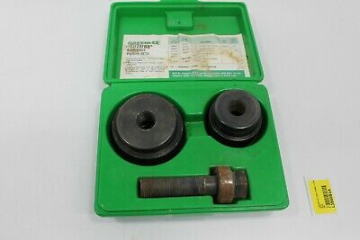 Greenlee Ball Bearing Knockout Punch Set 737BB L386081A-SD