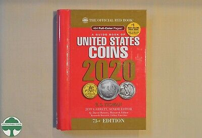 2020 HIDDEN SPIRAL REDBOOK - OFFICIAL PRICE GUIDE FOR U.S. COINS - 73rd EDITION