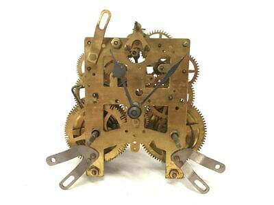 Antique Brass Mechanical Clock Movement for Parts | 22982