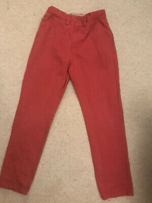 Boys Red Jeans/Trousers From Next, Age 10