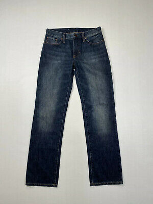 RALPH LAUREN Straight Jeans - Age 16 W28 L30 - Navy - Great Condition - Boys