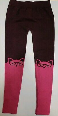 Limited Too Girls'  Fleece Lined Leggings pink  Size 7-16