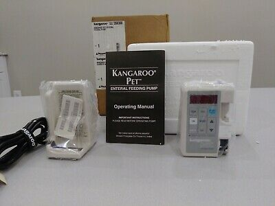Sherwood Medical Kangaroo Pet Enteral Feeding Pump W/ Charger,New- Unopened
