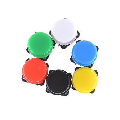 10pcs Momentary Tact Tactile Push Button Switch 4 Pin  Cap√