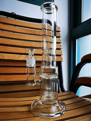 Glass Bong Glass Water Pipe Spoon Smoking Pipe Bubbler Tobacco Smoking Pipes