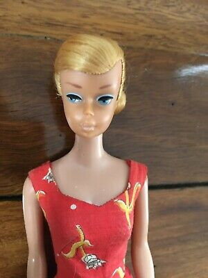 Vintage Blonde Swirl Barbie Doll