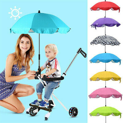 Parasol Buggy Baby Sun Umbrella Shade Canopy Covers Pushchair Canopy Protect