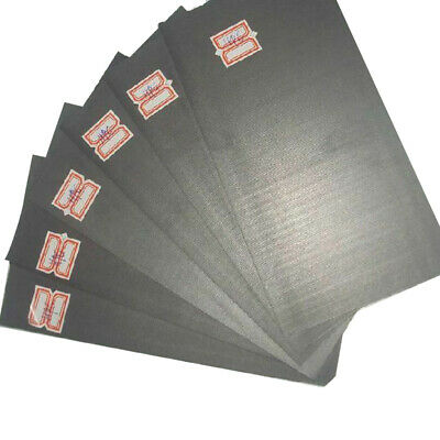 Set Graphite plate Kit Accessories 50x40x3mm Metalworking Supplies 5pcs