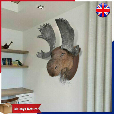 Wall Mounted Moose Head Elk Head Wall Hangings Wall Decoration Home Decor Unique