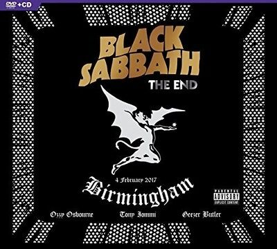 Black Sabbath - The End [New CD] Explicit, With DVD, Digipack Packaging