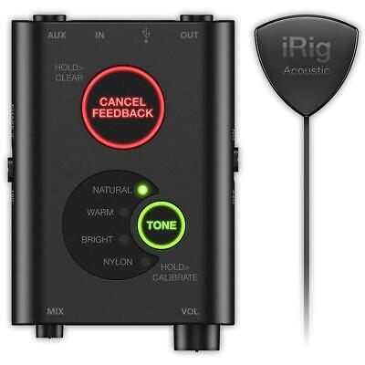 IK Multimedia iRig Acoustic Stage Advanced mic system for acoustic guitar