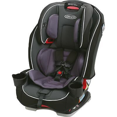 Graco SlimFit AllinOne Convertible Car Seat Darcie Gray Infant to Toddler Car Se