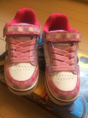 girls light up Heelys size uk1/33