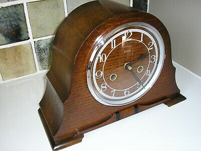 1930's ENFIELD MANTLE CLOCK CASE – CONVERTED