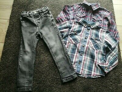 Baby Boys Next Jeans & 2 Shirts Age 18/24 months