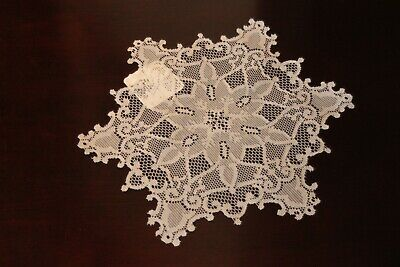 """Heritage Lace Snowflake SW-1200W 12"""" Round WHITE Doilie  NEW"""
