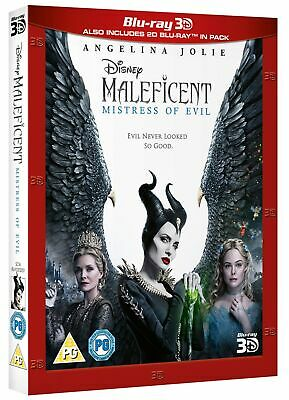 Maleficent: Mistress of Evil (3D Edition with 2D Edition) [Blu-ray]