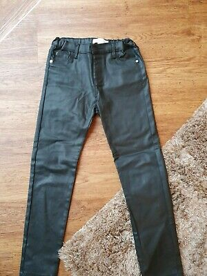 Age 9 Years River Island 'Leather Look' Trousers