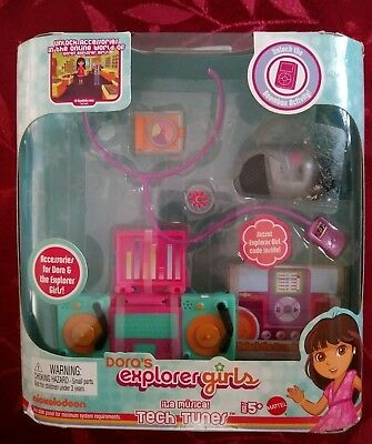 Dora The Explorer Girls Tech Tunes 4 Links Doll Online Accessory Fisher-Price