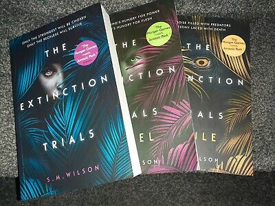 The Extinction Trials Young Adult Book Trilogy S.M Wilson