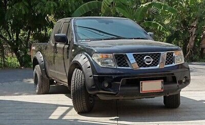 Nissan Navara D40 Pickup-Truck Extra Wide Wheel Arch/ Fender Flares/ Guard.