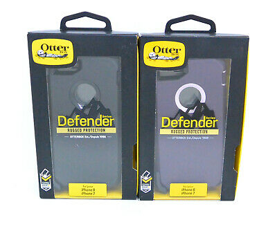 New OEM OtterBox Defender Series Case For iPhone 8 & iPhone 7(with Holster/Clip)