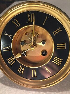 A Wonderful Movement Of A French 8 Day Striking Clock With Its Dial For Sale