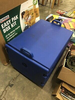 Cambro Food Carrier - Front Load Carrier & Insulator - Blue