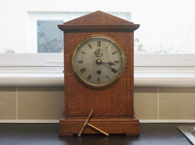 1938 Ww11 Raf Elliott Clock - Serviced And New Fusee Mainspring Fitted