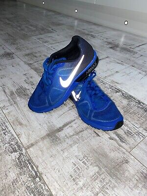 Nike Air Max Boys Junior Trainers Unusual Reflective Size Uk 5