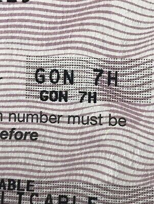 GON7H Cherished number plate