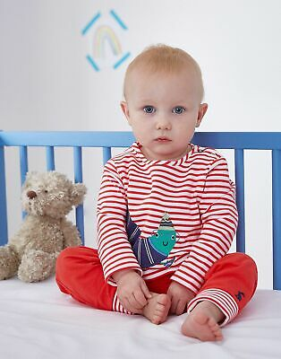 Joules Baby Byron   Jersey Applique Top And Trouser Set in  Size 9min12m