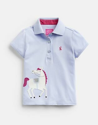 Joules Boys Woody Polo Shirt Yr in DARK DAHLIA PINK