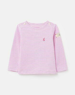 Joules 207253 Striped Jersey Top Shirt in CREAMSTRIPE Size 2yrin3yr