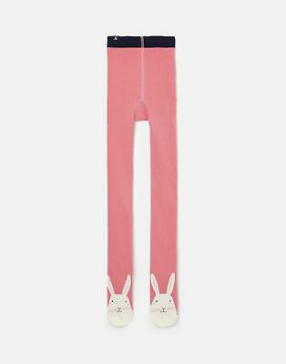 Joules Girls Anikins Character Tight in PINK BUNNY Size 3yrin4yr