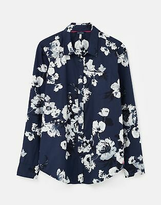 Joules 211382 Printed Woven Shirt in FRENCH NAVY POSY Size 20