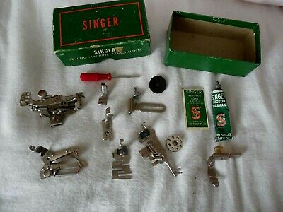 Singer Sewing Machine Attachments for Featherweight and Other Straight Stitch
