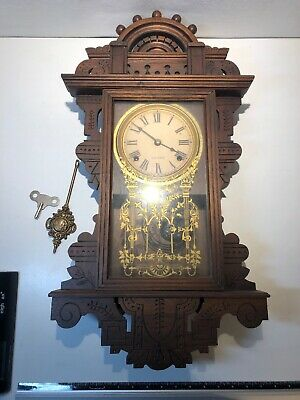 Antique (Seth Thomas ?)Wall Clock