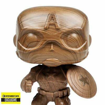 Captain America Wooden Deco Funko Pop Entertainment Earth Exclusive