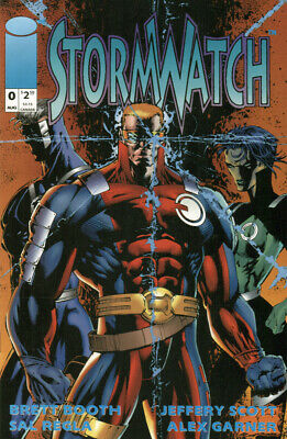 Stormwatch #4 FN 1993 Stock Image
