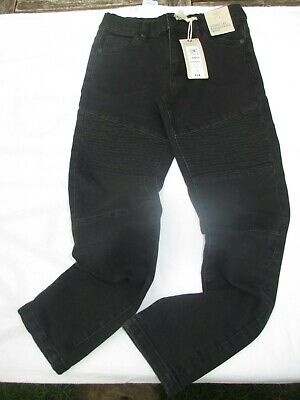 Marks and Spencer brand news boys skinny leg black jeans size 8-9 years