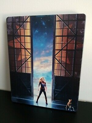 Captain Marvel 4K UHD Blu-ray Steelbook Best Buy Exclusive