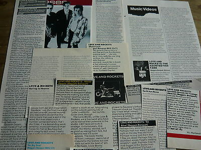 Love And Rockets - Magazine Cuttings Collection (Ref Z13)
