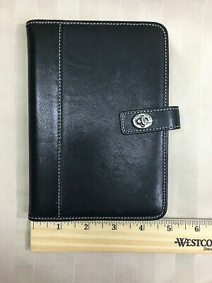 COACH Leather Turnlock Travel Photo Album Passport Case