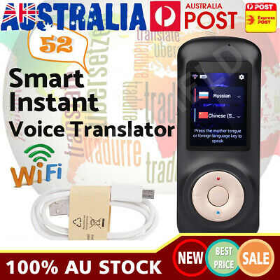 Smart Wireless Portable Translator Real Time Voice 52 Languages