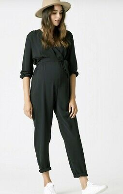 Pea in a Pod Maternity Cleo Crossover Jumpsuit, XS, RRP $129