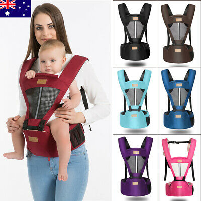 New Ergonomic Breathable Infant Baby Kids Carrier Adjustable Wrap Sling Backpack
